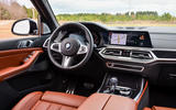 BMW X7 M50i 2020 first drive review - dashboard