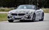 BMW Z4 prototype drive 2018 cornering front