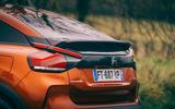 Citroen C4 Puretech 2021 UK (LHD) first drive review - rear end