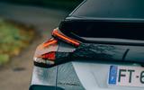 Citroen e C4 2020 LHD first drive review - rear lights