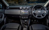 Dacia Duster 2018 first drive review dashboard