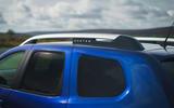 Dacia Duster Bi-Fuel 2020 UK first drive review - roof bars