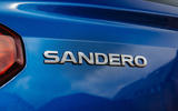 5 Dacia Sandero BiFuel 2021 UK first drive rear badge