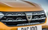 5 Dacia Sandero Stepway 2021 UK first drive review bonnet