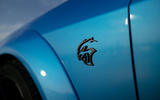 Dodge Challenger Hellcat Redeye Widebody 2018 first drive review - front wing badge