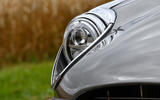 5 E Type Unleashed V12 2021 UK First drive review headlights