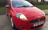 Fiat Grande Punto 2009 - static front