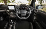 Ford Fiesta ST 2018 UK first drive review dashboard