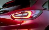 Ford Puma Titanium 2020 first drive review - rear lights