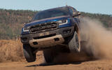 Ford Ranger Raptor 2018 first drive review off road front