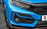 Honda Civic Type R 2020 UK first drive review - headlights
