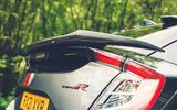 5 Honda Civic Type R Sportsline 2021 UK FD rear end