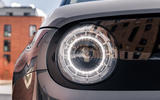 Honda e 2020 UK first drive review - front lights