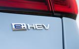 Honda Jazz Crosstar 2020 UK first drive review - rear badge