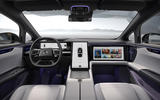 5 Human Horizons HiPhi X 2021 first drive dashboard