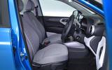 Hyundai i10 2020 UK first drive review - cabin