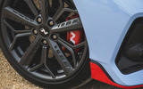 5 Hyundai i20 N 2021 UK first drive review alloy wheels