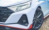 5 Hyundai i20N 2021 RHD UK FD front bumper