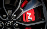Hyundai i30 Fastback N 2019 UK first drive review - brake calipers