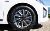 Hyundai Ioniq Electric 2019 first drive review - alloy wheels