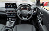 5 Hyundai Kona 1.6 hybrid 2021 UK first drive review dashboard