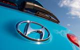 5 Hyundai Kona Electric 2021 UK first drive review rear badge