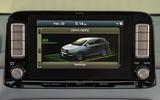Hyundai Kona Electric 2018 first drive review infotainment