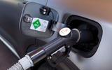 Hyundai Nexo 2019 first drive review hydrogen filler