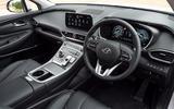5 Hyundai Santa Fe PHEV 2021 UK FD dashboard