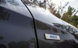 Hyundai Tucson 2.0 CRDI 48v 2018 first drive review badge
