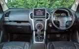 Isuzu D-Max Arctic Trucks 2020 UK first drive review - dashboard