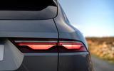 5 Jaguar F Pace 2021 UK first drive review rear lights