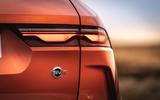5 Jaguar F Pace SVR 2021 UK first drive review rear lights