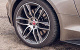 Jaguar F-Type 2020 UK first drive review - alloy wheels