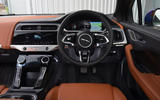 Jaguar I-Pace EV400 UK first drive review dashboard