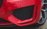 Jaguar XE P300 2019 first drive review - front bumper