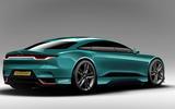Jaguar XJ render - static rear