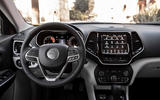 Jeep Cherokee Limited 2018 first drive review dashboard