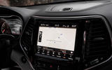 Jeep Cherokee Limited 2018 first drive review infotainment