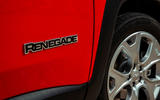 Jeep renegade Longitude 2019 UK first drive review - side badge