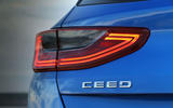 Kia Ceed 2018 first drive review rear lights
