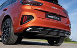 5 Kia Ceed GT Line 2021 facelift first drive rear bumper