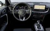 Kia Ceed Sportswagon PHEV 2020 first drive - cabin