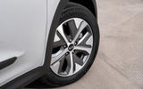 5 Kia e Niro 39kWh 2021 UK first drive review alloy wheels