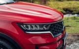 5 Kia Sorento PHEV 2021 UK first drive review headlights