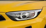 5 Kia Stonic 48v 2021 UK first drive review headlights