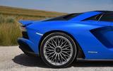 Lamborghini Aventador S 2018 first drive review rear arch