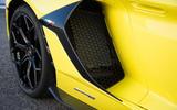 Lamborghini Aventador SVJ 2018 first drive review front aero