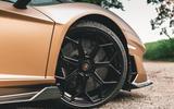 Lamborghini Aventador SVJ Roadster 2019 first drive review - alloy wheels