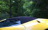 Lamborghini Huracan Performante Spyder 2018 UK review roof closed